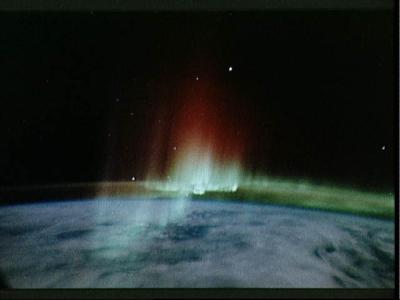 Aurora sett fra romferge