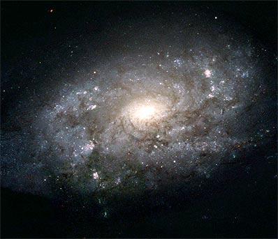 En kunstners gjetning av Melkeveiens utseende